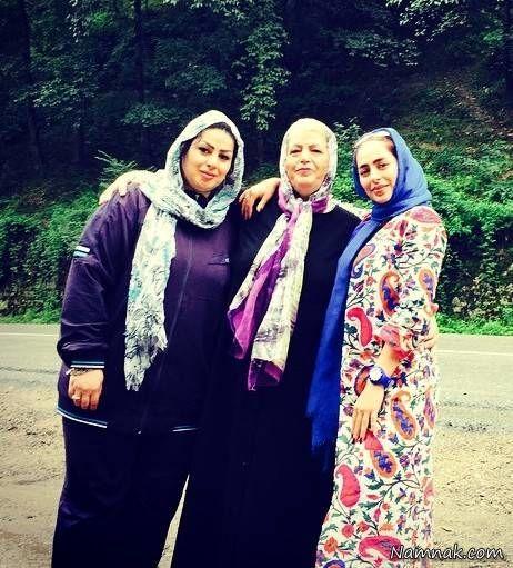 مادر و خواهر سمانه پاکدل