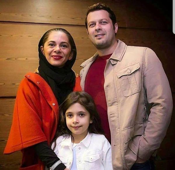 پژمان بازغی و همسرش + عکس