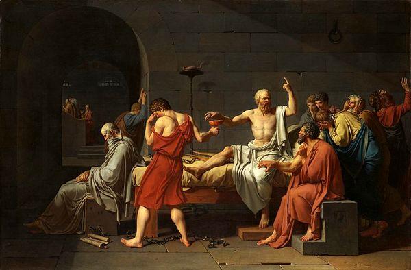 افلاطون از زبان سقراط در باب روان میگوید