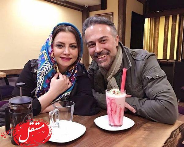 دانیال حکیمی و همسرش + عکس