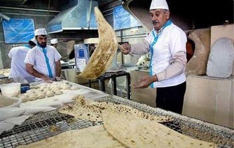 هشدار در مورد میزهای بیرون نانوایی ها