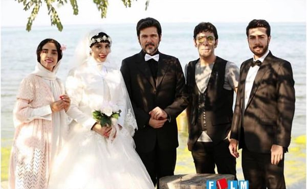 عروسی اندیشه فولادوند + عکس