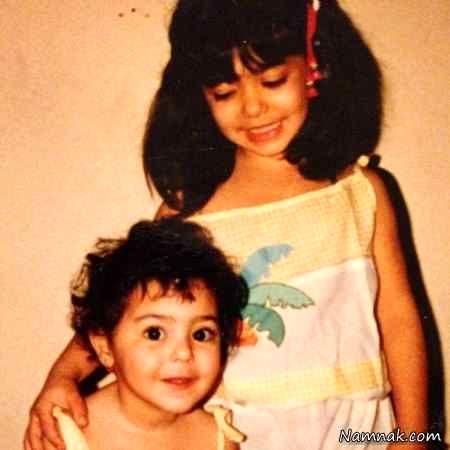 کودکی لیندا کیانی و خواهرش