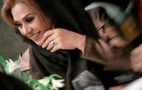 چهره خندان مادر شوهر ساره بیات + عکس