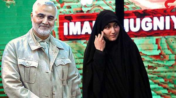 دختر سردار سلیمانی ازدواج کرد  + عکس