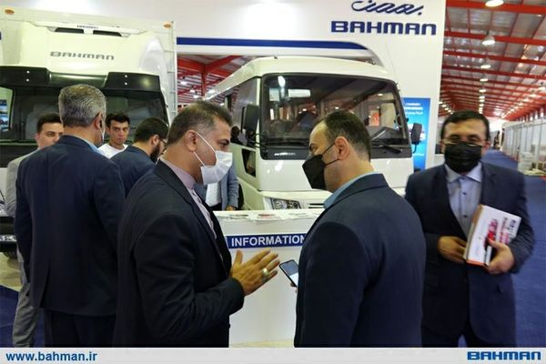 گروه بهمن نماد جمهوری اسلامی ایران در نمایشگاه اربیل عراق است