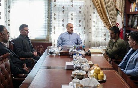 دیدار وزیر ورزش با دبیر، بنا و محمدی