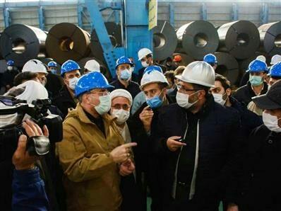 تداوم تولید در گروه فولاد مبارکه در شرایط اقتصادی موجود بسیار حائز اهمیت است