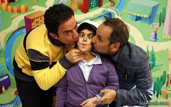 عمو پورنگ و عمو قناد و امیرمحمد متقیان