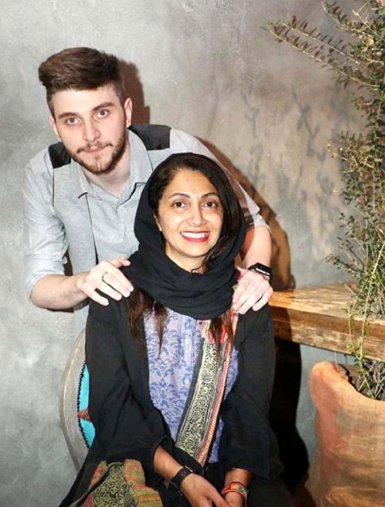 عکس دارا حیایی و همسرش ( عروس امین حیایی ) + بیوگرافی و تصاویر ...