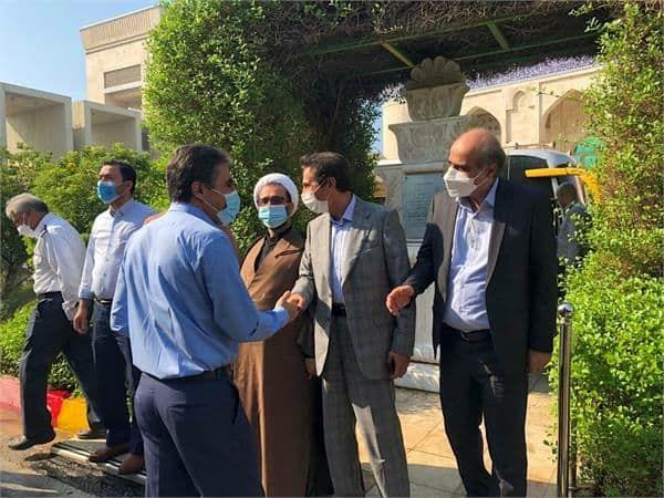 حضور اعضای کمیسیون صنایع مجلس شورای اسلامی در پتروشیمی جم