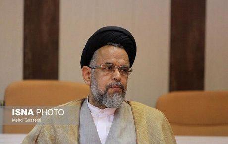 دیدار هیات بلندپایه حماس با وزیر اطلاعات