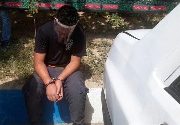 بازداشت مسافر قلابی حین زورگیری با سلاح سرد   پلیس سر بزنگاه رسید