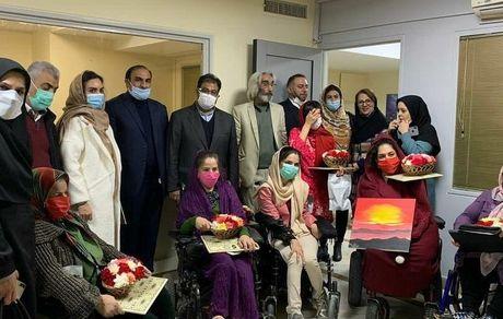 حضور مدیرعامل سازمان بهشت زهرا(س)در آسایشگاه معلولین جسمی-حرکتی باغ فرشته