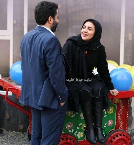 عکس های عاشقانه ژیلا صادقی و همسرش محسن رجبی | | حیاط خلوت