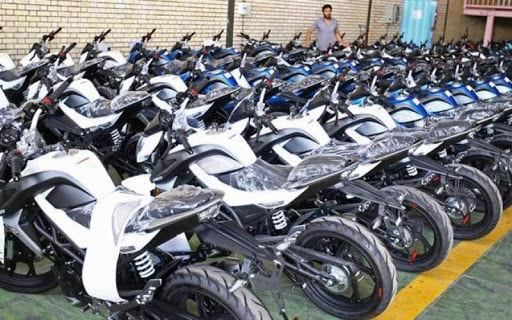 قیمت انواع موتورسیکلت چهارشنبه ۲۶ شهریور
