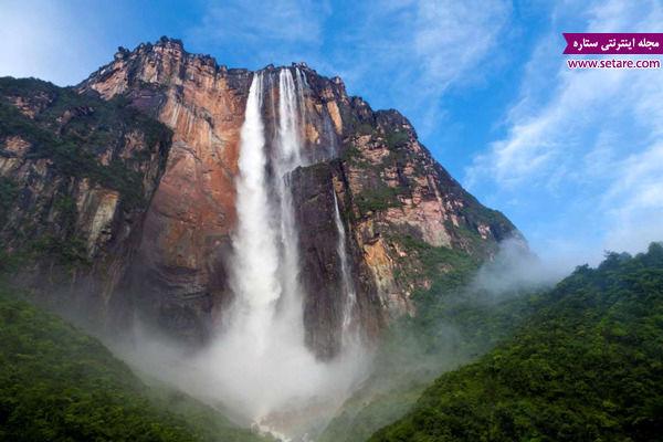 آبشار آنجل، ونزوئلا، پارک ملی کانایما، جیمز آنجل