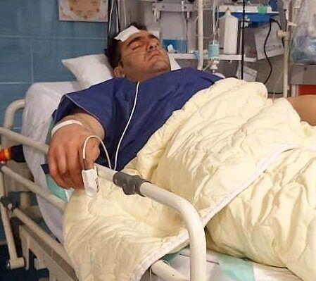 قویترین مرد ایران را با گلوله زدند