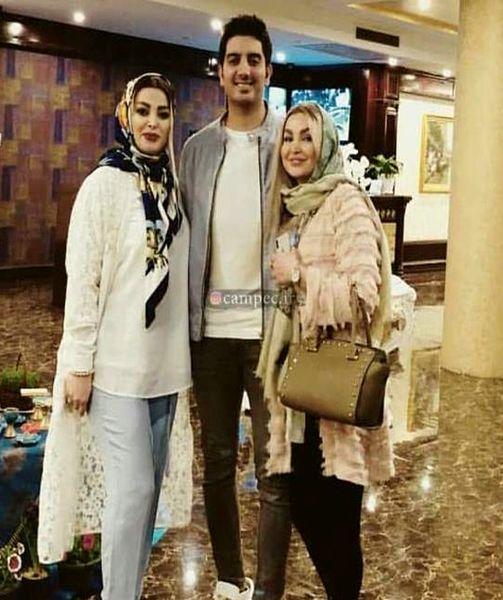 رونمایی فرزاد فرزین از همسرش جنجالی شد + عکس و بیوگرافی