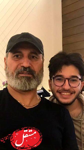 حمید فرخ نژاد با ظاهری جدید + عکس
