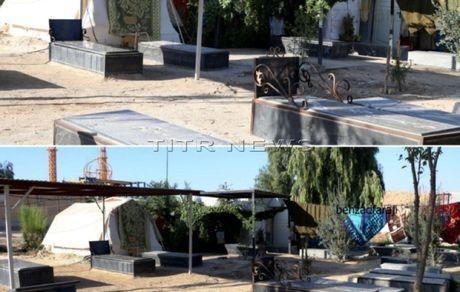 گور نشینی در سر پل ذهاب پس از ۲ سال از زلزله