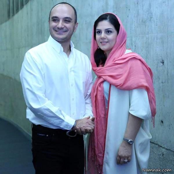 بیوگرافی جالب و خواندنی احسان کرمی و همسرش + عکس