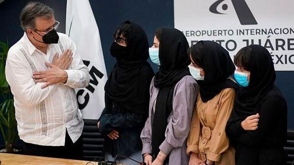 پذیرش «دختران روباتیک» افغانستان از سوی مکزیک