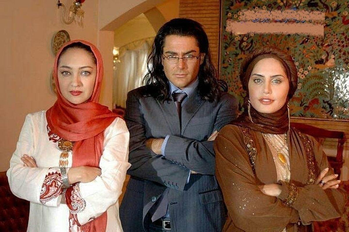 محمدرضا گلزار با موهای بلند درکنار نیکی کریمی و الناز شاکردوست/عکس