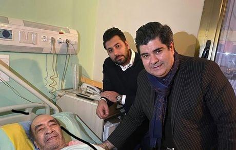 پدر «احسان خواجه امیری» در بیمارستان بستری شد