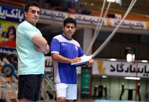 غیبت محمد بنا در رقابتهای قهرمانی کشور