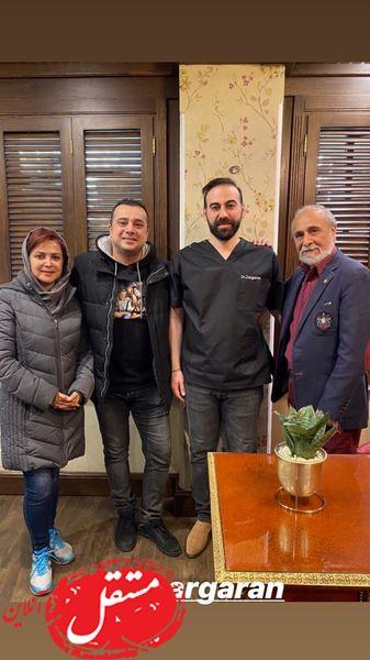 امیرسلیمانی ها و دکترشون + عکس