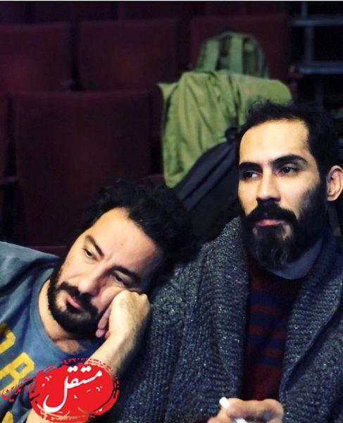 خستگی های نوید محمدزاده + عکس