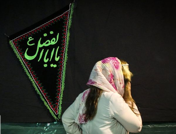 عزاداری ارامنه تهران در سوگ امام حسین (ع) + عکس