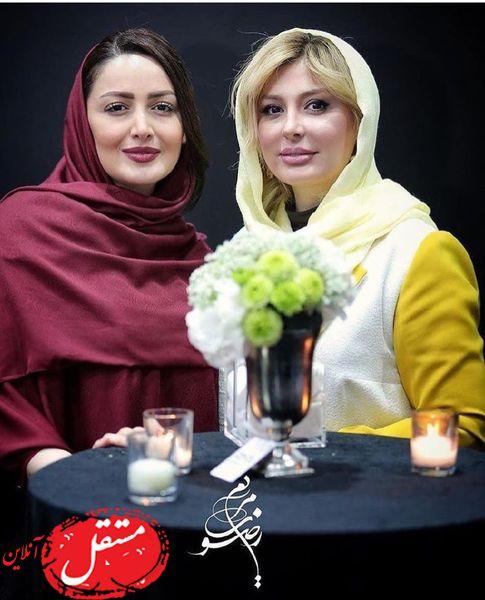 نیوشا ضیغمی و شیلا خداداد در یک مراسم + عکس