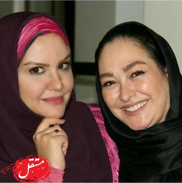 چهره بدون آرایش الهام حمیدی + عکس