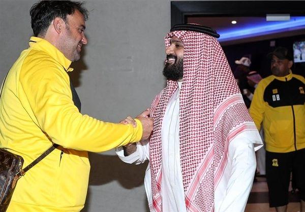 رئیس باشگاه الاتحاد: بازیکنان به هواداران عیدی دادند/ جشن و شادی برای شکست ذوبآهن کافی است