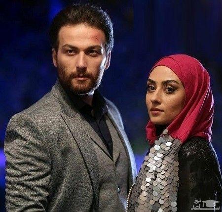 کار زشت میلاد میرزایی ( کامرانی) در سریال احضار + عکس