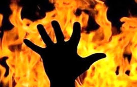 فوری /  این زن ایرانی شوهرش را در خیابان آتش زد + فیلم 16+