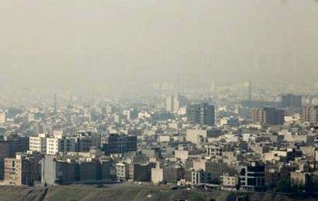 آمار مراجعه به اورژانس بخاطر آلودگی هوا