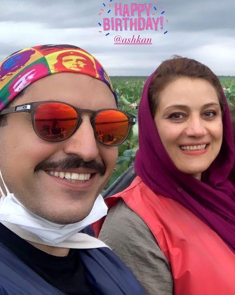 شبنم مقدمی: تو درجه یکی اشکان جان من