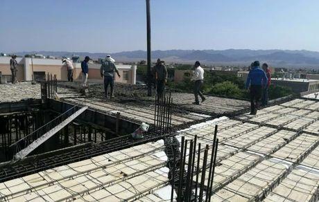 ساخت کلینیک پزشکی، توسط چادرملو در شهرستان بهاباد