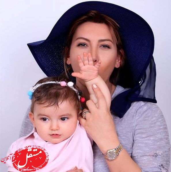 فریبا نادری و دخترش + عکس