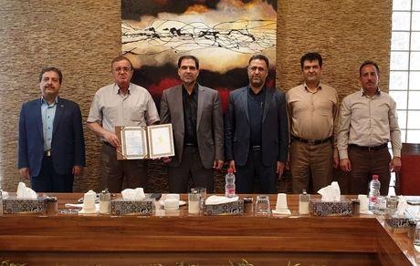 تقدیر مدیر عامل برق منطقه یزد از مجتمع معدنی چادرملو