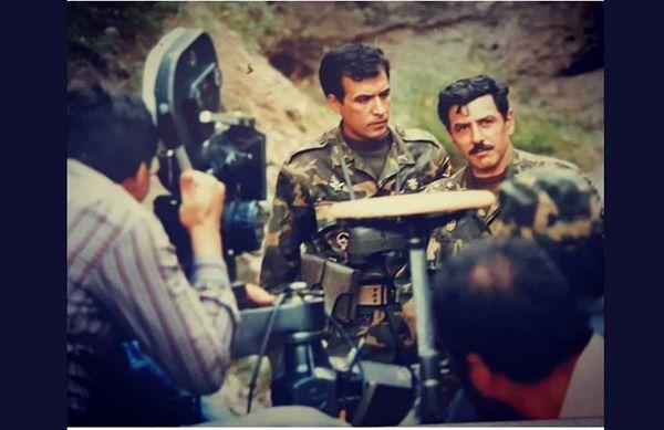 فرامرز قریبیان در لباس نظامی + عکس