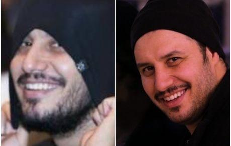 جواد عزتی برای همسرش غیرتی شد + فیلم و عکس همسرش