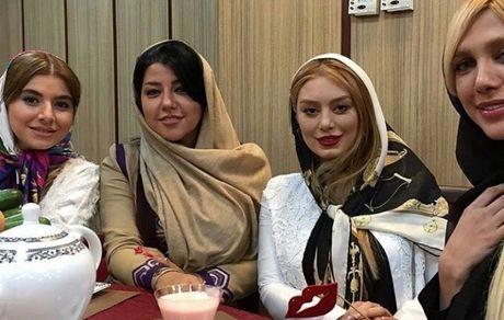 سحر قریشی در کنار همسر شهاب حسینی + عکس