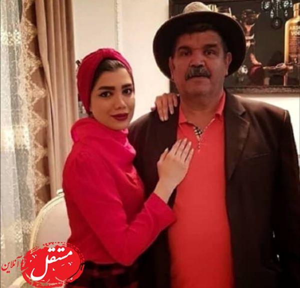کیانوش گرامی و دخترش + عکس