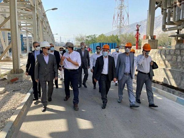 بازدید مدیرعامل بانک ملت از فعالیت های گروه صنعتی فاتح