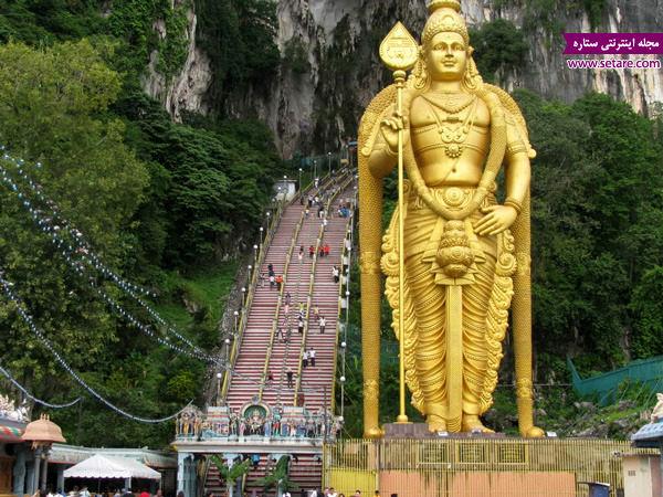 غار باتو، گومباک مالزی، زیارتگاه بودائیان،لرد موروگان، جشن تایپوسام