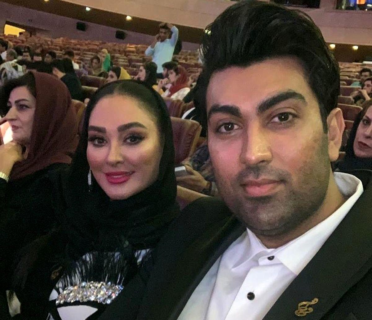 الهام حمیدی و همسرش و فرزندش + تصاویر